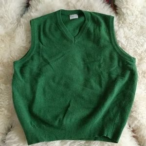 United Colors of Benetton Green Sweater Vest